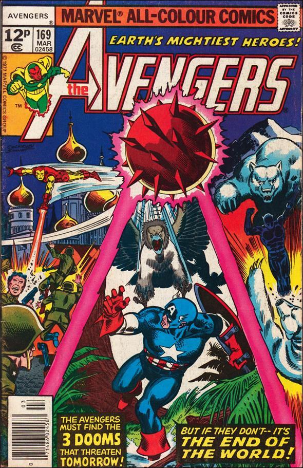 Avengers (1963) 169-B by Marvel