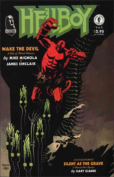 Hellboy: Wake the Devil 4-A by Dark Horse