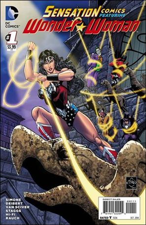 Sensation Comics Featuring Wonder Woman 1-A