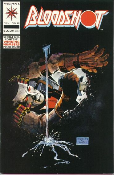Bloodshot (1993) 10-A by Valiant