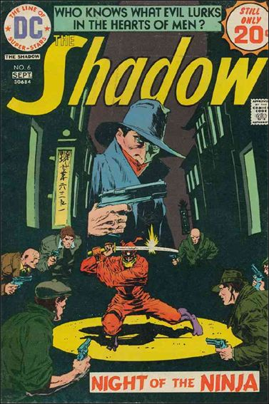Shadow (1973) 6-A by DC
