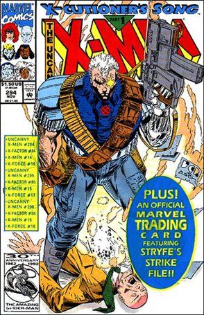 Uncanny X-Men (1981) 294-A