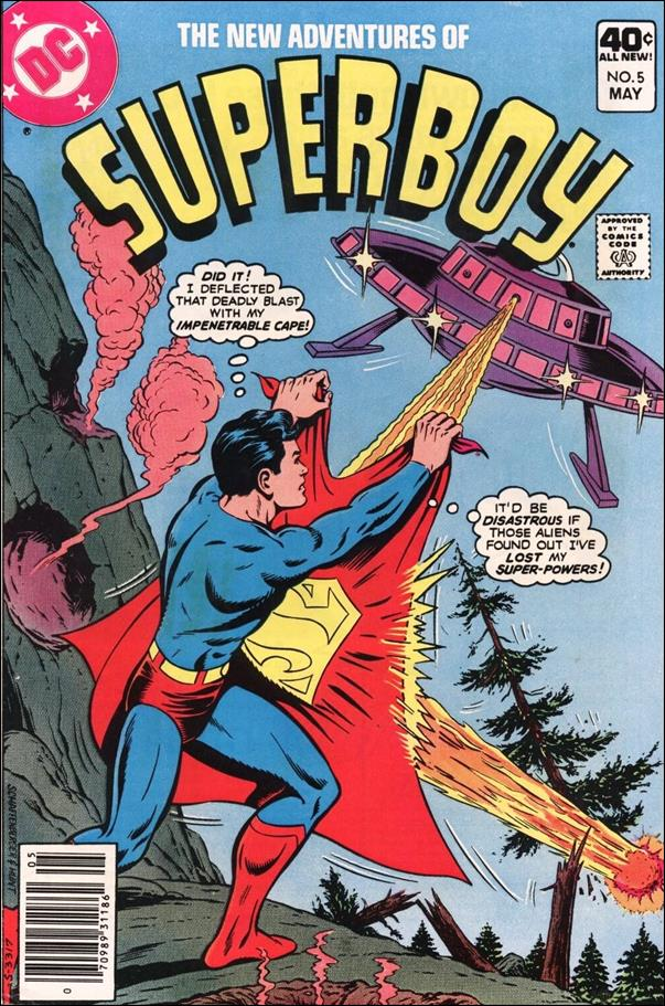 New Adventures of Superboy 5-A by DC