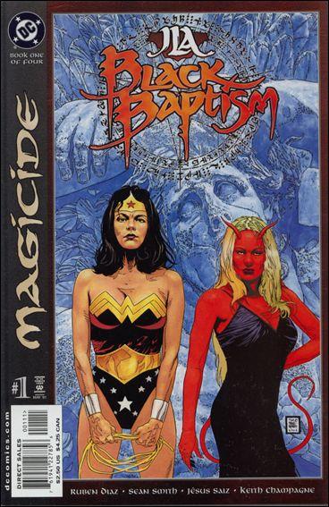 JLA: Black Baptism 1-A by DC