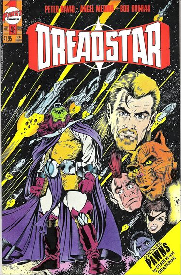Dreadstar (1982) 46-A by Epic