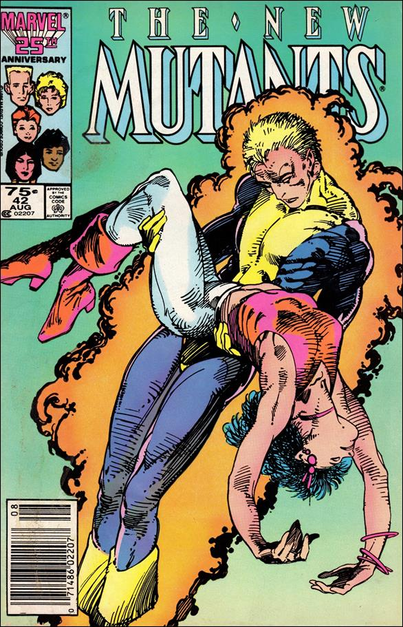 New Mutants (1983) 42-A by Marvel