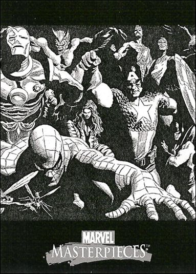 2007 Marvel Masterpieces (Ross Box Topper Splash Subset) ROSS 2-A by Fleer