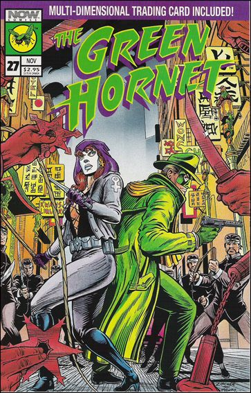 Green Hornet (1991) 27-A by Now Comics