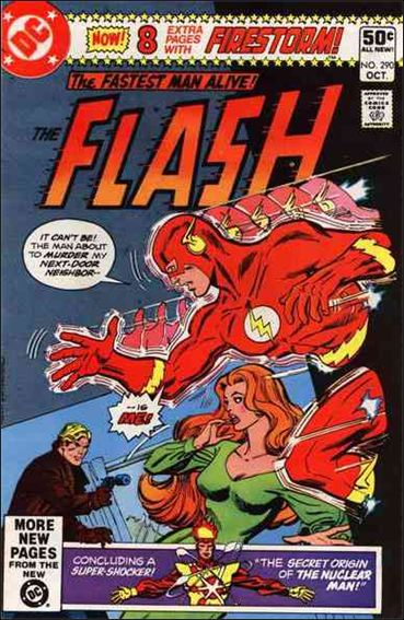 Flash (1959) 290-A by DC