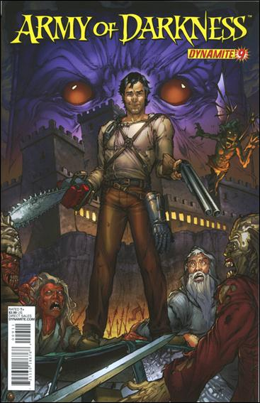 Army of Darkness (2012) 9-A by Dynamite Entertainment