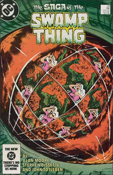 Saga of the Swamp Thing 29-A by DC