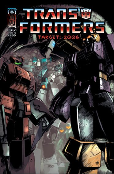 Transformers: Target 2006 3-A by IDW