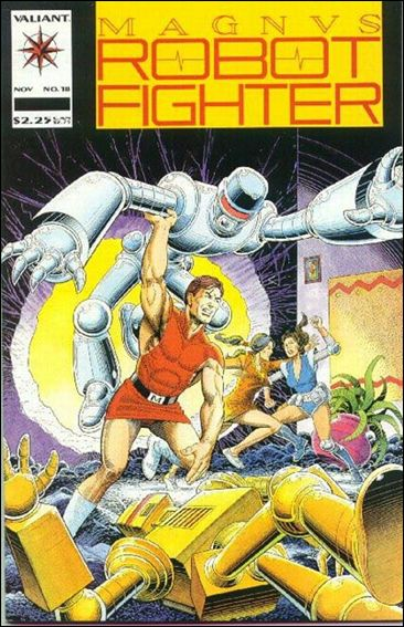 Magnus Robot Fighter (1991) 18-A by Valiant