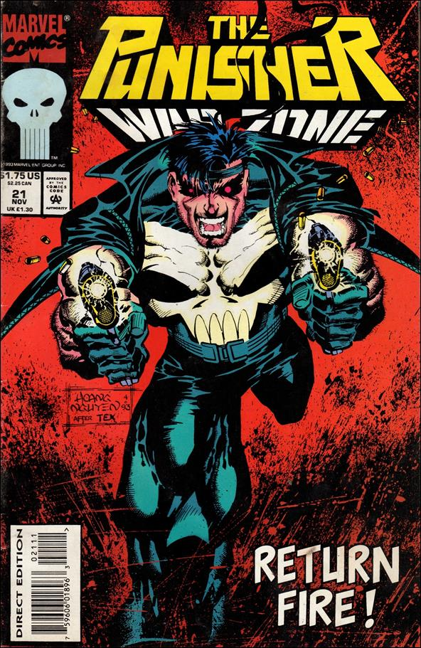 Punisher: War Zone (1992) 21-A by Marvel