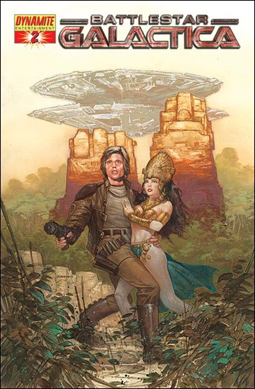 Classic Battlestar Galactica 2-B by Dynamite Entertainment
