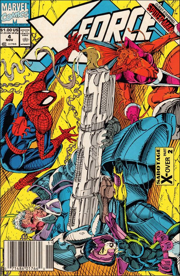 X-Force (1991) 4-A by Marvel