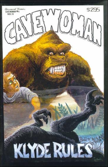 Cavewoman 4-A by Basement Studios