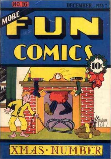 More Fun Comics 16-A by DC