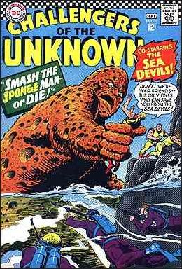 Challengers of the Unknown (1958) 51-A by DC