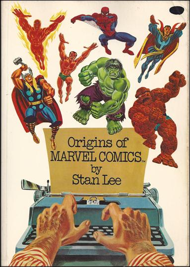 Origins of Marvel Comics 1-B by Simon & Schuster