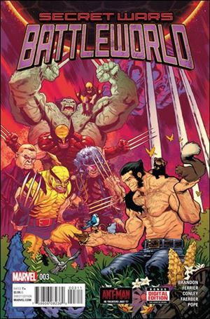 Secret Wars: Battleworld 3-A