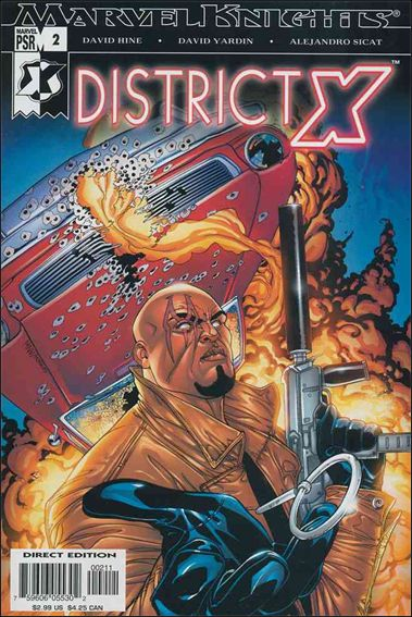 District X 2-A by Marvel