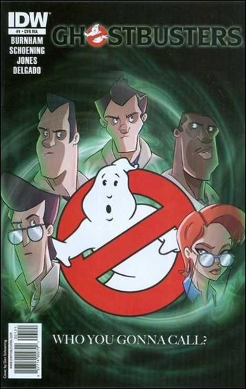 Ghostbusters (2011) 1-C by IDW