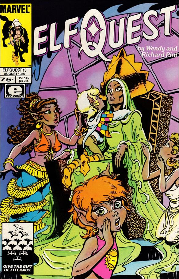 Elfquest (1985) 13-A by Epic