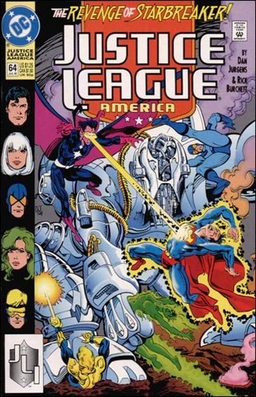 Justice League America 64-A by DC