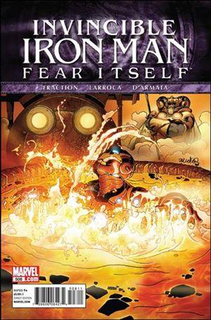 Invincible Iron Man (2008) 508-A