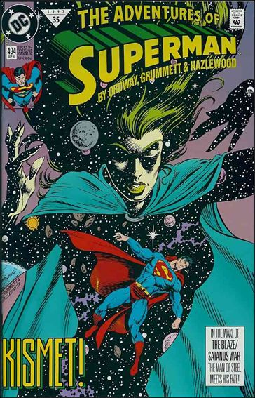 Adventures of Superman (1987) 494-A by DC
