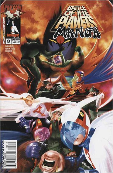 Battle of the Planets: Manga 3-A by Top Cow