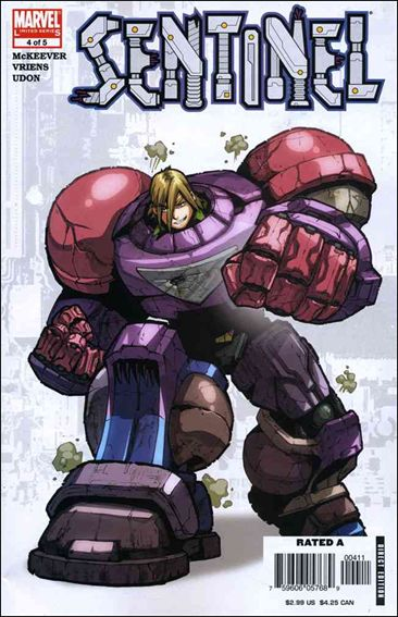 Sentinel (2006) 4-A by Marvel