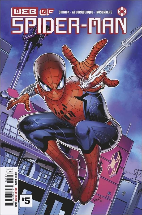 Web of Spider-Man (2021) 5-A by Marvel