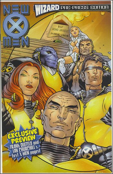 Wizard X-Men Pre-Press Edition 1-A by Marvel