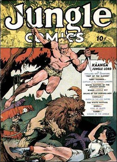 Jungle Comics (1940) 1-A by Fiction House Magazines