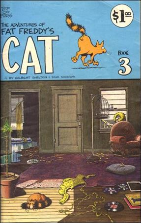 Adventures of Fat Freddy's Cat 3-B