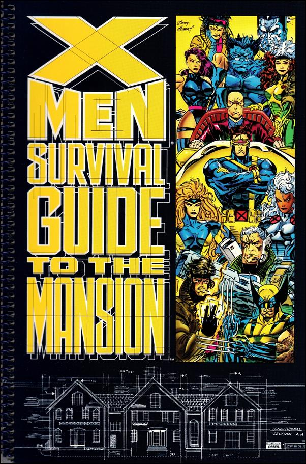 X-Men: Survival Guide to the Mansion 1-A by Marvel
