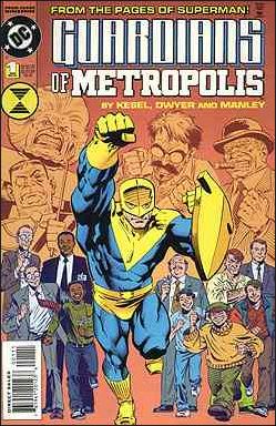Guardians of Metropolis 1-A by DC