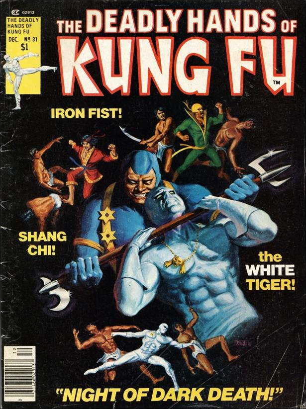 Deadly Hands of Kung Fu (1974) 31-A by Marvel