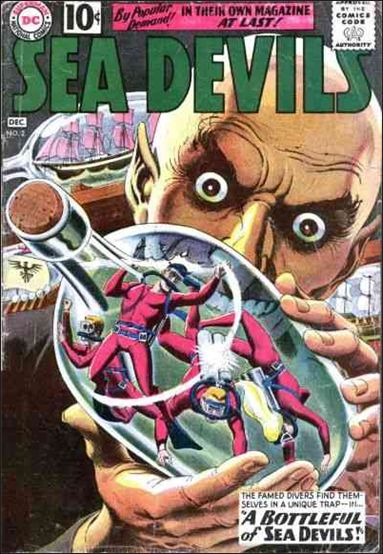 Sea Devils 2-A by DC