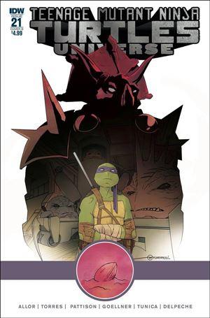 Teenage Mutant Ninja Turtles Universe 21-B