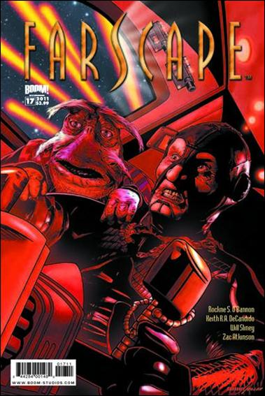 Farscape (2009) 17-A by Boom! Studios