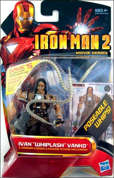 Iron Man 2 Ivan &amp;quot;Whiplash&amp;quot; Vanko (Movie Series) by Hasbro