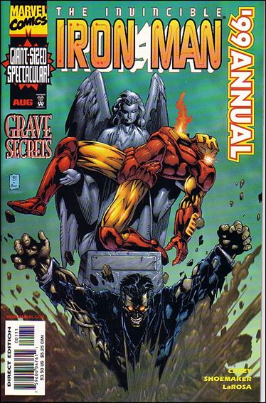 Iron Man Annual 1999-A by Marvel