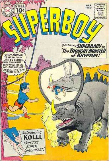 Superboy (1949) 87-A by DC