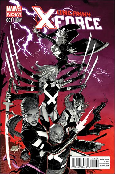 Uncanny X-Force (2013) 1-C by Marvel