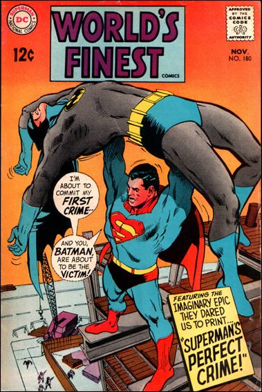 World's Finest Comics 180-A by DC