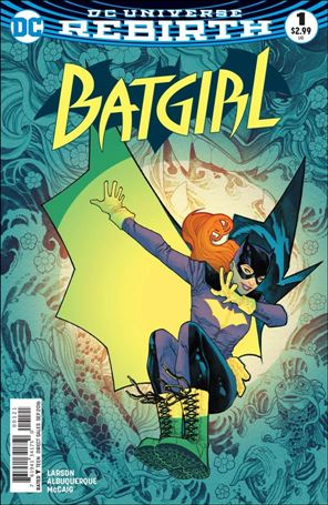 Batgirl (2016) 1-B