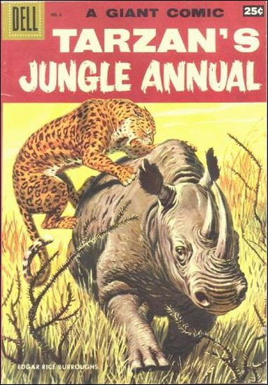 Tarzan's Jungle Annual 6-A by Dell